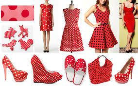 red polka dot dress u2013 a great trendy dress style