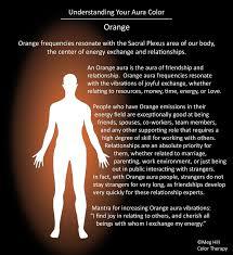 what do different colours mean understanding your aura color orange energy flow pinterest