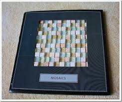 Decorating With Tiles How To Decorate A Mirror With Tile Sand And Sisal