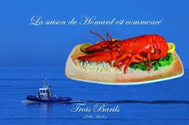 cuisiner un homard vivant homard vivant photo de restaurant bar les trois barils baie