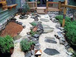 rock garden ideas nice garden landscaping rocks best images about