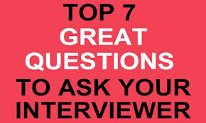 Great Questions To Ask A Top 7 Great Questions To Ask Your Interviewer Launchbox