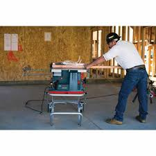 bosch gravity rise table saw stand bosch gts1041a 09 10 reaxx jobsite table saw gravity rise wheeled