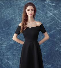 aliexpress com buy ruthshen simple little black prom dresses