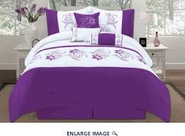 Purple Floral Comforter Set Best 25 Embroidered Bedding Ideas On Pinterest Bedspread