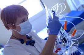 chambre sterile lymphome hématologie du service cancer du chru de brest