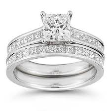 wedding set 5 princess rings costco