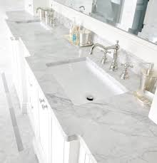 Carrara Marble Bathroom Designs by Countertops In Bianco Carrara And Bardiglio Marble Bardiglio