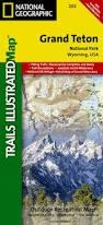 Grand Teton Map Wyoming