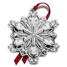 towle master snowflake 2016 towle ornaments