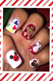 best 20 disney christmas nails ideas on pinterest christmas