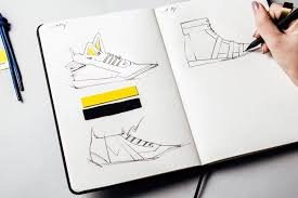 Home Design Sketchbook Fashionary Shoes A5