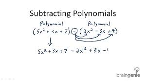 addition and subtraction of polynomials video algebra ck