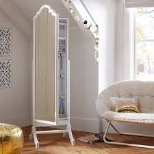 jewelry storage floor mirror pbteen