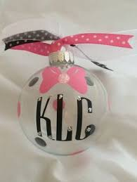 Christmas Ornaments With Initials Christmas Vinyl Sports Ornament Glitter By Shabbychiccreationz