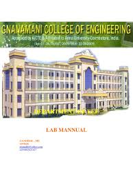 engineering practices lab mannual author gandhi r gnanamani