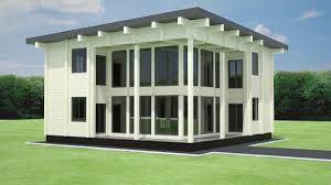 50m2 House Design by Wooden House Plans
