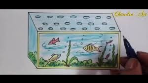how to play the fish table fish tank fish tank drawing for kids exceptional photo concept