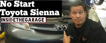 my toyota sign up my toyota sienna won u0027t start youtube