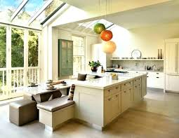large rolling kitchen island kitchen island dining table combo kitchen island with attached bench