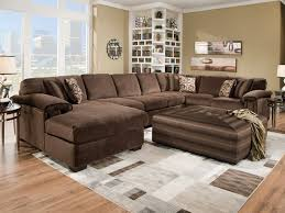 Sectional Sofa With Double Chaise Living Room Beautiful Extra Large Sectional Sofa With Leather Wide