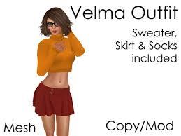 Velma Costume Second Life Marketplace Velma