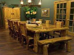 Bench Style Dining Table Sets Dining Table Farm Style Dining Tables Farmhouse Table Chairs
