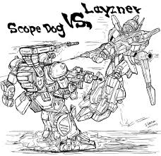 armored trooper votoms armored trooper votoms vs blue comet spt layzner by archaznable30