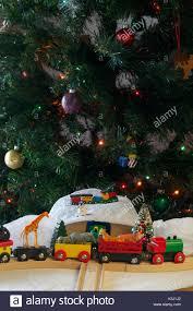 train set christmas tree home design inspirations