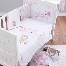 Uk Bedding Sets Silver Cloud Sweet Dreams 3 Pieces Cot Cot Bed Bedding Set