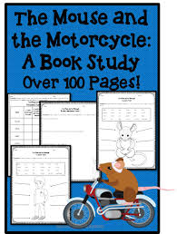the mouse and the motorcycle book study character traits