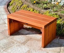 Picnic Table Plans Free Separate Benches by Simple Wooden Garden Bench Plans Simple Wood Projects Pics With