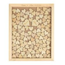 engraved wedding guest book personalized engraved rustic wooden wedding guest book frame