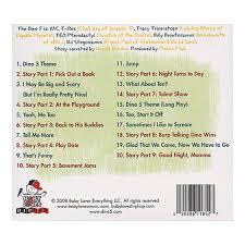 baby loves music baby loves hip hop the dino 5 cd cover art