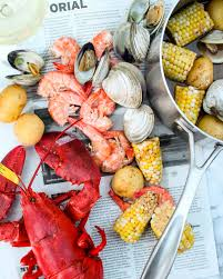 Cape Cod Clam Bake - cape cod seafood boil recipe for two american kitchen cookware