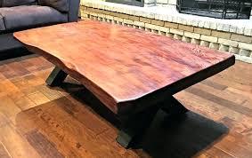 Redwood Coffee Table Oversized Wood Coffee Table Redwood Coffee Table Oversized Wooden