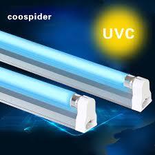 Uvc Light Fixtures 15w Quartz Uv Germicidal Cfl L Kit Kill Mites Antivirus