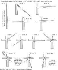 palm sunday crosses palm cross how to make a palm cross