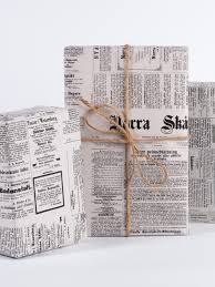 newspaper wrapping paper vintage swedish newspaper
