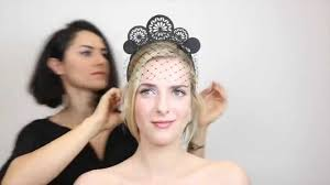 lace fascinator how to wear a crown or a fascinator different ways you can style