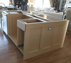 installing kitchen island kitchen islands ikea hack how we built our kitchen island jeanne