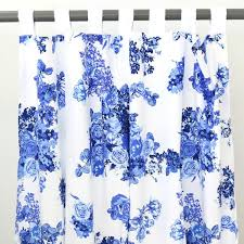 Blue And White Floral Curtains Juliet S Blue White Baby Bedding Caden