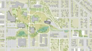 Oregon Campus Map by Eastern Oregon University Landscape Development Plan Place