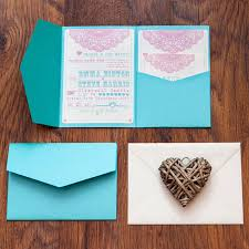 pocket wedding invitations pocketfold wedding invitation lovely lace by lovely jubbly