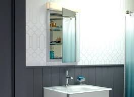 Bathroom Medicine Cabinet With Light Bathroom Medicine Cabinets With Lights House Of Designs