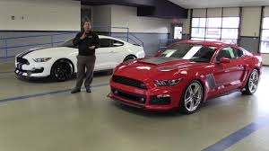 roush mustang gt 2016 gt350 vs roush stage 3 rs3 side by side comparison 16 17