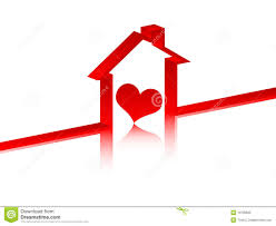 heart inside in house royalty free stock photo image 10705665