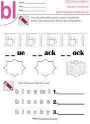 blends worksheets kindergarten u0026 consonant blends worksheet for