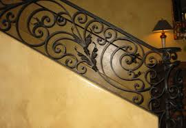 Modern Banister Rails Iron Staircase Railing Orange County Ca Ornamental Iron