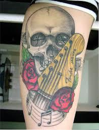 Guitar Tattoo Designs Ideas 23 Best Idée Tatoo Images On Pinterest Tatoo Skull Tattoos And